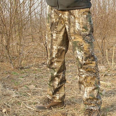 Outdoor Big & Tall Men's Hunting Bionic Camouflage Pants Real Tree Camo Trousers