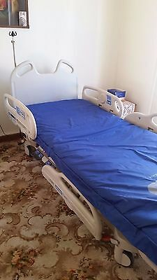 Hill-rom electric hosptial bed, electric lift hoist and adjustable table