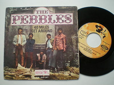 THE PEBBLES Get Around SPAIN 45 1968 Brilliant POPSIKE Pop Psych