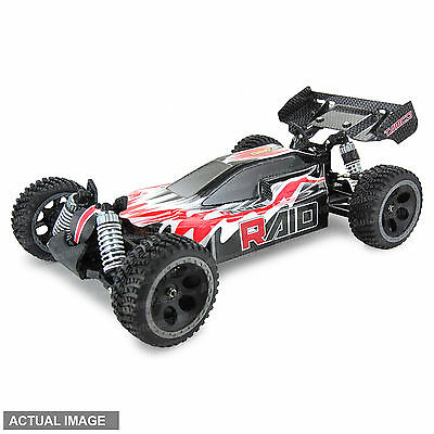 Tamco Raid 4WD Brushless RC Remote Control Off-Road Buggy Scale 1:10 Red/Carbon