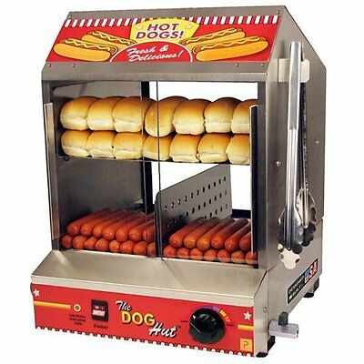 Latest Model Paragon 220V - 240V Dog Hut Hot Dog Steamer Made in the USA