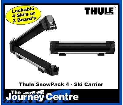 Thule 7324 SnowPack 4 Ski Carrier NEW latest Model Replaces 740 745 746 749 726