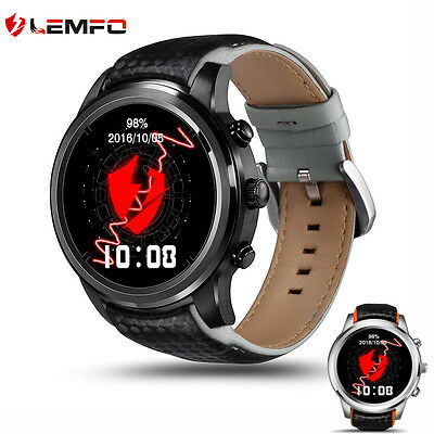 New Lemfo LEM5 Outdoor Bluetooth Wireless Smart Watch Phone Mate For Android IOS