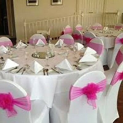 Quality Spandex Lycra Chair Covers- 100% Money Back Guarantee
