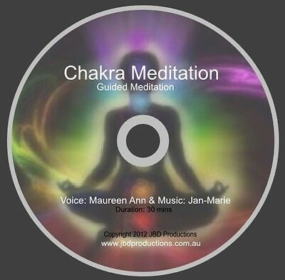 Guided Meditation CD Chakra Meditate by Maureen & Jan-Marie Relax Music & Voice