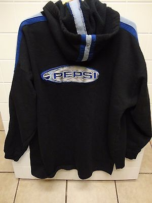 Vintage Pepsi Generation Next Men's Hooded Sweatshirt - L/xl