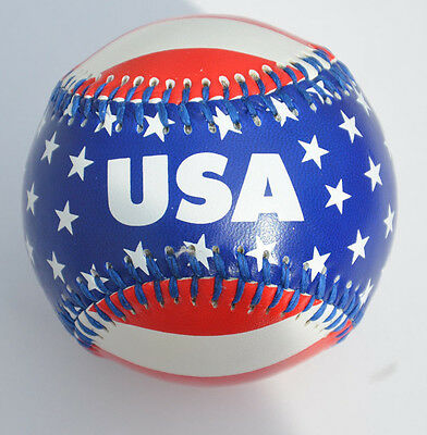 NEW Baseball USA U.S. UNITED STATES OF AMERICA STARS STRIPES FLAG NEW & UNUSED