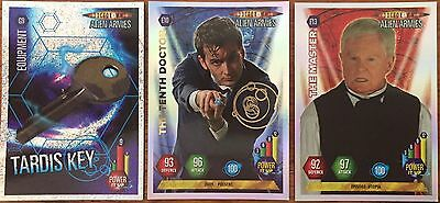 Doctor Who Alien Armies 23 cards including foil and glitter
