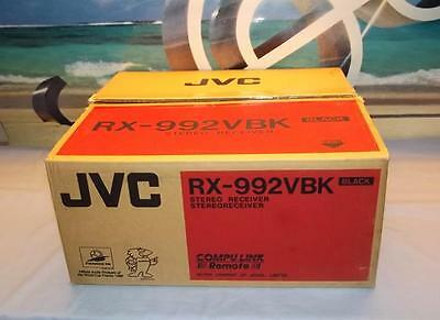 JVC RX-992BK Stereo Receiver Amplifier with remote New In Box