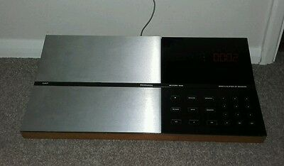 bang and olufsen, beocord 6000, vintage cassette recorder,display item