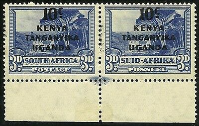 K U T  1941, South Africa 3d def with overprint