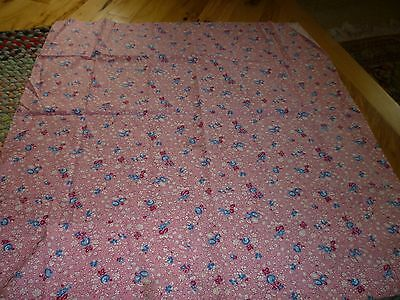 """Vintage 30-""""s 40""""s  Fabric Yardage  36 inch wide PINK"""
