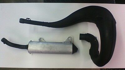 2001 honda cr250 expansion chamber and silencer oem used low hrs 18300-KZ3-J30
