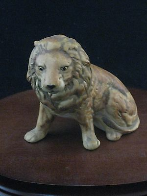 UCCI Pottery Lion Figurine Made in Japan