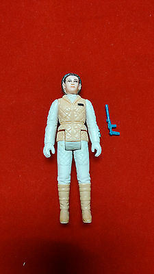Vintage Star Wars Princess Leia Hoth Complete Action Figure with Weapon