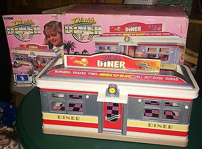 VintageTYCO Dixie's Diner Playset with Box