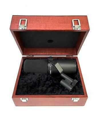 Wooden Box for Shure SM7 Microphones - THE BOX ONLY!