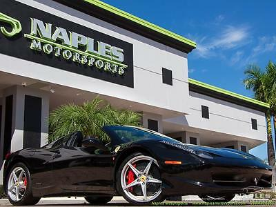 2013 Ferrari 458 Base Convertible 2-Door 2013 Ferrari 458 Spider 458, mp4-12c, hurrican, gallardo, 430, 599,