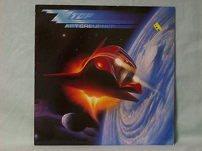 ZZ TOP - AFTERBURNER (25342) VG+/VG++ condition AWESOME ALBUM