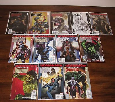 Ultimate Origin ___ #1 2 3 4 5 ___ Wolverine Hulk Variants Captain America