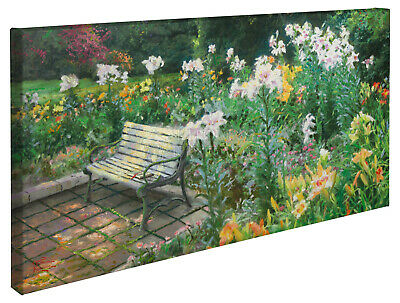 Thomas Kinkade Eternal Springtime 16 x 31 Gallery Wrapped Canvas
