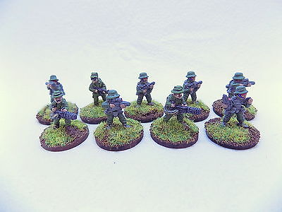 15mm Sci Fi REGULAR INFANTRY / MARINES x9 Superbly Painted Traveller 37234