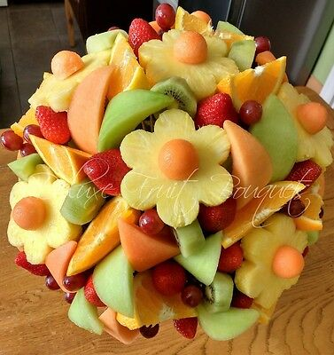 Fruit Flower Bouquets Beautiful Healthy Gift Three Sizes Aviable