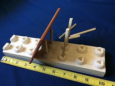 Pottery Star China Painting Setter & Tile with tile supports
