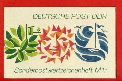 DDR SMHD 3 c ** tadellos  TOP STAMP BOOKLET CARNET !
