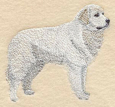 Great Pyrenees Portrait Embroidery Patch
