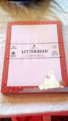 """Great Papers Christmas Letterhead Stationary Paper Pkg Of 100  8.5"""" X 11"""" New"""