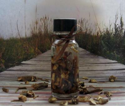 MANDRAKE ROOT INFUSED OIL Ritual Oil Herb Oil Tincture ~ Wicca Witchcraft Oils