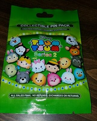 Disney Pins Tsum Tsum MYSTERY PIN PACK  2nd series REDUCED WHILE SUPPLIES LAST