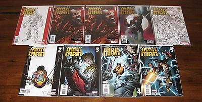 Ultimate Iron Man #1 2 3 4 5 Volume 2 #1 2 3 4 5 Armor Wars #1-4 Volume 3 #1-4
