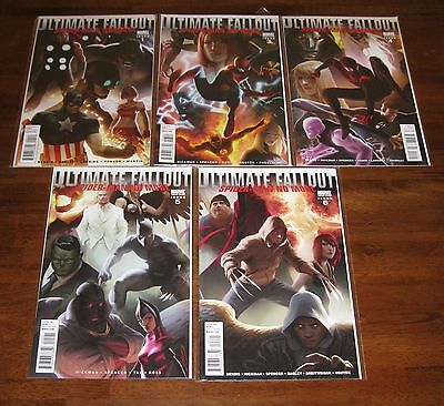 Ultimate Fallout ___ #1 3 4 5 6 ___ Spider-Man Variant Lot 1St Miles Morales