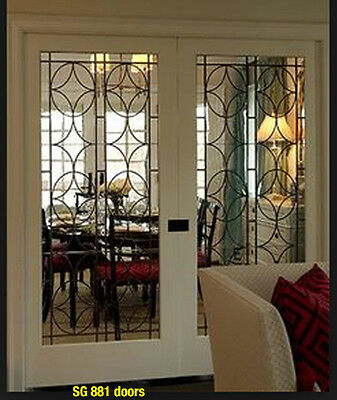 Stunning Leaded  Glass interior Doors ( Standard, Pocket, or Barn  ) WOW