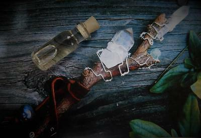 MYSTIC WAND Ritual Oil Anointing Oil for Wand & Athame ~ Wicca Witchcraft Pagan