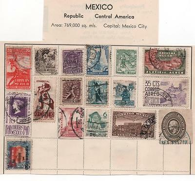 South america  nine countries stamps seven scans