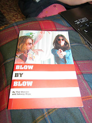 BLOW BY BLOW by TED DEMME AND JOHNNY DEPP - SIGNED AUTOGRAPHED AUTOGRAPH BOOK
