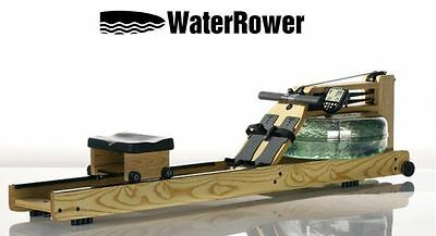 WATERROWER NATURAL  COMMERCIAL ROWER.. with S4 Monitor...