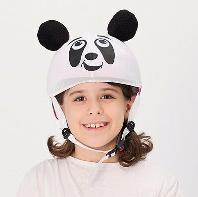 Panda helmet cover - ideal for any kid size helmet for 14 different sports
