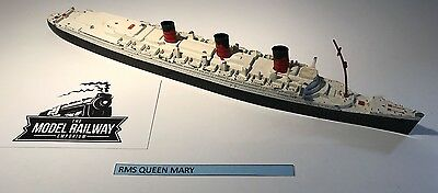 Vintage - Triang Minic Ships - M703 - Rms Queen Mary - Diecast Unboxed Rarity