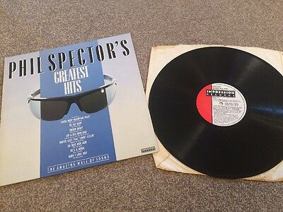Phil Spector' s Greatest Hits - LP 1983 Vinyl Ronettes