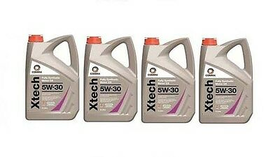 Comma Xtech 5W-30 Fully Synthetic Engine Oil 4X5Litre Cans