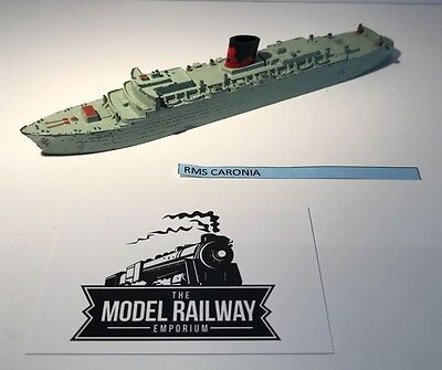 Vintage - Triang Minic Ships - M701 - Rms Caronia - Diecast Unboxed Rarity