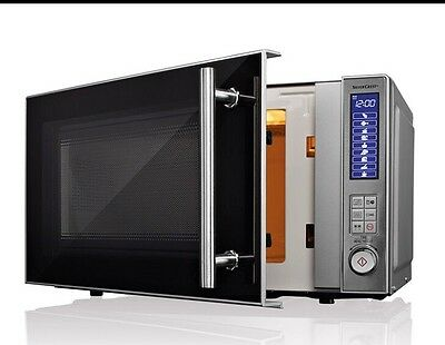 Stainless Steel Microwave - SILVERCREST