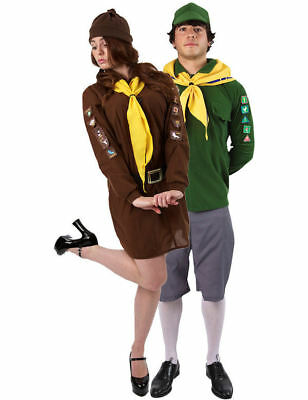 Adventure Boy & Adventure Girl Couple Fancy Dress Costumes