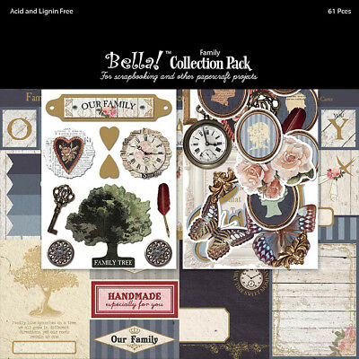 """Bella! Collection Pack 12""""X12"""" Family RCP13"""