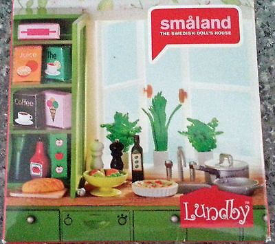 Lundby Dolls House Smaland Kitchen Accessories
