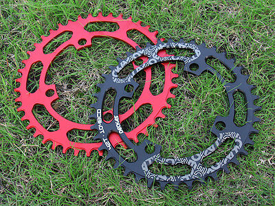 Bicycle Chainring BCD104 Circle single speed Narrow wide NW teeth 32T 40 50 52T